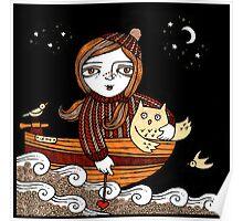 Olivias Owl Poster