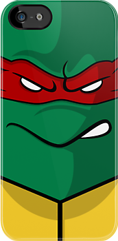 TMNT iPhone Case ! (Raphael) by Venum Spotah