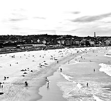 Bondi Beach - Australia at Play  by Dean Gale