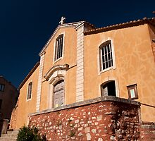 Eglise St Michel Roussillon by Christopher Cullen