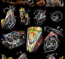 Evel Knievel Harley XLCH Chopper by Frank Kletschkus