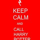 Keep Calm and call Harry Potter by theweirdo666