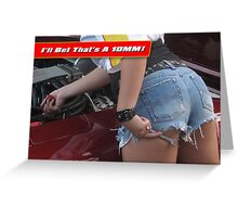 Bet It's A 10MM! Greeting Card