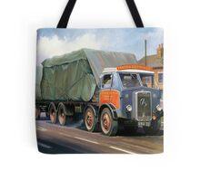 Atkinson eight-wheeler and drag. Tote Bag