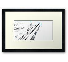 Towards the sky Framed Print