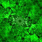 Green Fractal by Deastrumquodvic