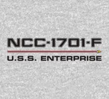 ST Registry Series - Enterprise-F Logo by Christopher Bunye