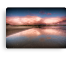 Sunrise over Lossiemouth Canvas Print