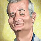 Bill Murray by Tom Bradnam