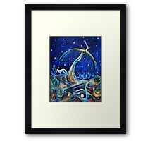 The Fifth Day of Creation Framed Print