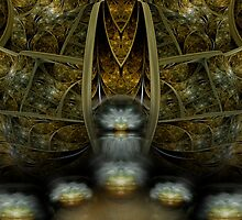 Entering The Matrix by Craig Hitchens - Spiritual Digital Art