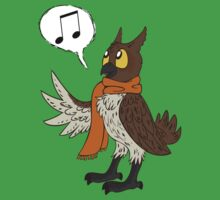 Musical Hoot Owl by ChaosCanine