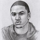 Trey Songz by thedrawinghands