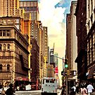 Summer on Seventh Avenue by Forrest Harrison Gerke