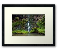Mokoroa Falls Collection # 6 Framed Print