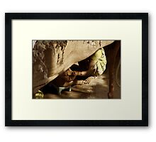 Loving Hands Framed Print