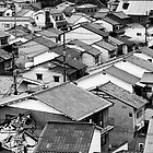 Japanese Residential Rooftops by Val Blakely