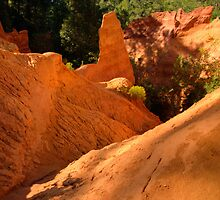 Roussillon Ochre by Christopher Cullen