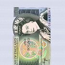 British One Pound Banknote by CaseBase