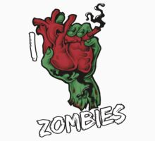 I Heart Zombies by hatefueled