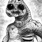 Zombie Slitheen by drwhofreak