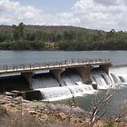 Burdekin Weir, Charters Towers, Queensland, Australia by myhobby