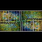 Below The Water Line Tetraptych [grunge] by Damienne Bingham