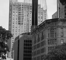 Sydney - Streetscape 2 by Angela Gannicott