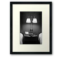 lights over Gideon Framed Print