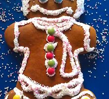 Giant Gingerbread Man by waxyfrog