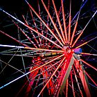 Ferris Wheel - Floriade Nightfest, Canberra Australia. by Joseph O&#x27;R.
