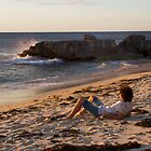 Incoming Tide at Sundown by Sandra Chung