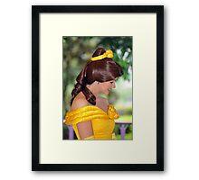 Belle at Hong Kong Disneyland. (2) Framed Print