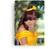 Belle at Hong Kong Disneyland. (2) Canvas Print