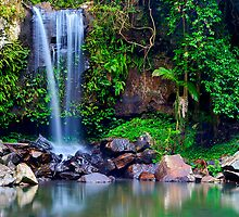 Curtis Falls - Panorama by Maxwell Campbell