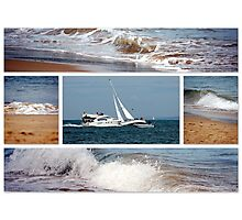 Sandbanks Photographic Print