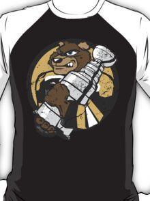 Boston Bruins - Champions! (distressed) T-Shirt