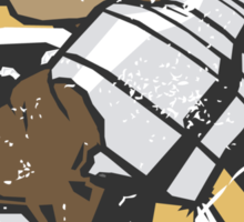 Boston Bruins - Champions! (distressed) Sticker