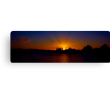 Sunset excess Canvas Print