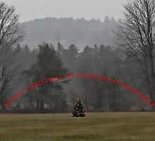 Merry Christmas to Everyone at RedBubble by T.J. Martin