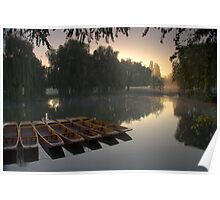 River Cam sunrise Poster