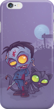 Pet Cemetery iPhone Case by fizzgig