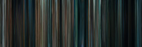 Moviebarcode: Super 8 (2011) by moviebarcode