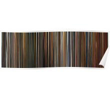 Moviebarcode: Ocean's Trilogy (2001-2007) Poster