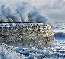 Winter Storms 2 ~ Lyme Regis by Susie Peek