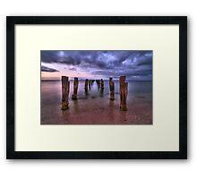 Clifton Springs HDR Framed Print
