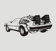 Back to the Future - Delorean by ChrisDeeprose