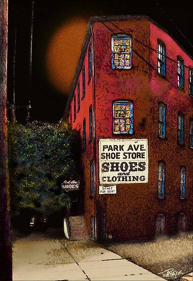 Park Avenue Shoes by Ted Byrne
