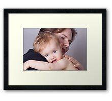 Cuddles Are The Best Framed Print