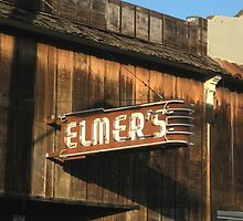""" Elmer's Old Time Saloon ""  The Real Deal by waddleudo"